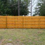 Backyard Pressure Wood Fencing