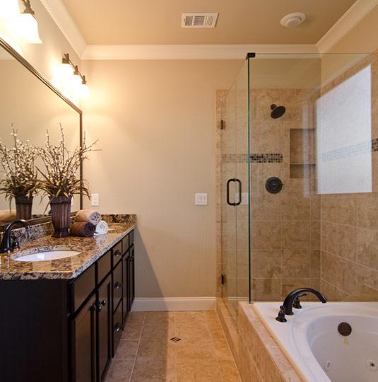 Second floor guest bathroom