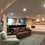 Basement Living Space