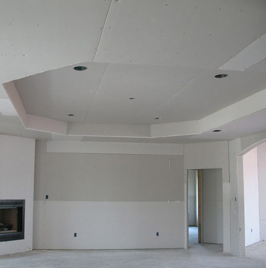 Drop Ceiling and Drywall